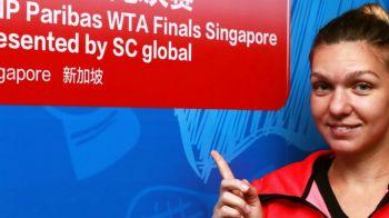 PRIMA REACTIE a Simonei Halep dupa victoria fantastica impotriva Sharapovei, prima din cariera