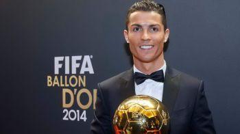 Ronaldo a VANDUT un Balon de Aur! Suma uriasa incasata de portughez pentru trofeu