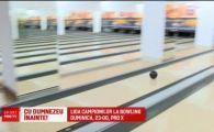 Aparitie TOTAL neasteptata pe pista de bowling! Cine e cel mai TARE concurent de la Europeanul din Bucuresti