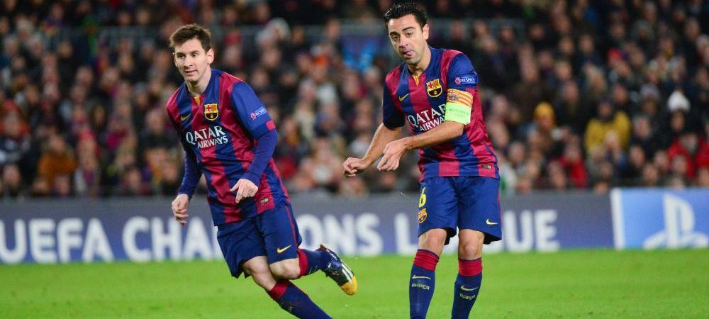 """Ii dai mingea sau il scoti din sarite!"" Dezvaluirea neasteptata facuta de Xavi! Ce spune in premiera despre Messi"