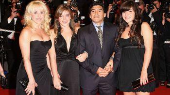 Maradona isi da in judecata cele doua fiice! Scandal incredibil: le acuza ca i-au furat un munte de bani din conturi