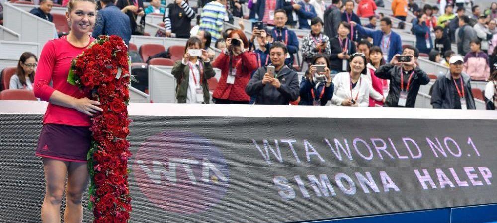 GALERIE FOTO: Cele mai frumoase 10 imagini, in ziua in care Simona Halep a ajuns PRIMA IN LUME!