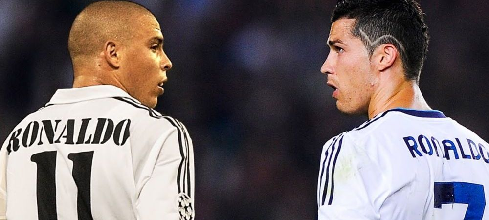 Ronaldo e unul singur: EL! :) Ronaldo a facut cel mai bun 11 din istorie fara Cristiano ori Ronaldinho, dar cu Messi. Cum arata