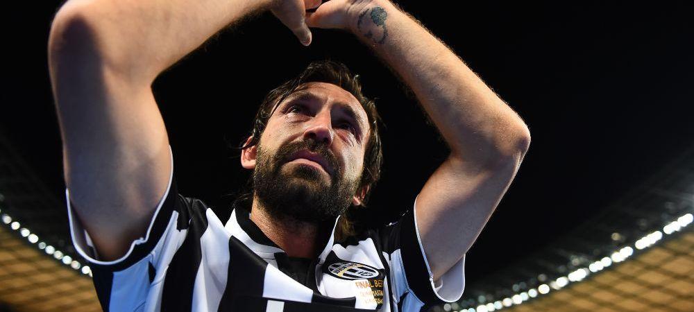 """Se retrage """"ultimul artist al fotbalului"""". Pirlo a anuntat ca va juca ultimele sale meciuri! Pentru ce echipa va juca ultimele partide"""