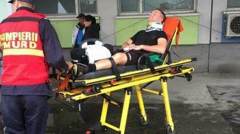 Romania. 2017! Uluitor: un arbitru, bagat in spital de un jucator, dupa ce i-a aratat cartonasul rosu! Colegii i-au strigat sa-l rupa cu bataia