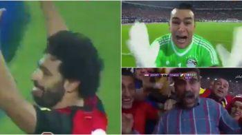 Imagini fa-bu-loa-se! Egiptenii luat-o razna dupa ce Salah i-a calificat la Mondial cu un gol in minutul 95, dupa 27 de ani de asteptare