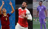 Un portar care a marcat din foarfeca, SCORPIONUL lui Giroud si o reusita de la fotbalul feminin! FINALISTII de la premiul Puskas. VIDEO