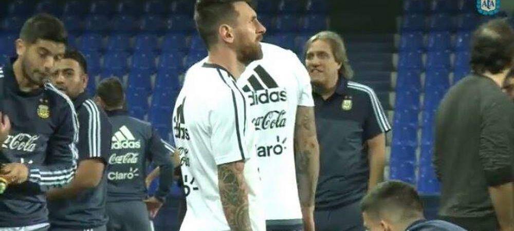 Reactia lui Messi spune totul! Argentina joaca in MLASTINA pentru calificarea la Cupa Mondiala! Cum arata gazonul din Ecuador. FOTO
