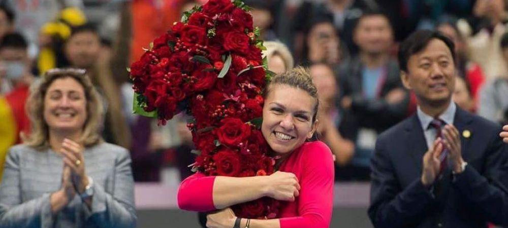 LAUDE de la cel mai inalt nivel al tenisului! Mesajul transmis Simonei Halep de presedintele WTA
