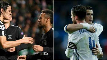 """""""Ai vazut incidentul dintre Neymar si Cavani? Cum ai reactionat daca Ronaldo ti-ar lua mingea?!"""" Raspunsul capitanului Realului, Sergio Ramos"""