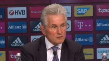 """Cum a ajuns Heynckes din nou pe banca lui Bayern: """"A latrat de două ori, asa ca am fost sigur"""""""