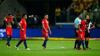 Nationala care a pierdut calificarea la Mondial din cauza unei VICTORII. Situatia incredibila a chilienilor in preliminariile sud-americane