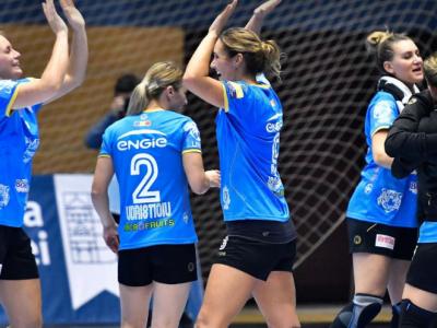 Lasati-ne sa defilam in Champions League :) CSM Bucuresti, a doua victorie la scor: suntem lideri in grupa!