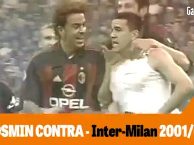 WOW! Cosmin Contra, PRIMUL in topul Gazzetta dello Sport al celor mai tari goluri din derby-ul Inter - Milan, peste Ronaldinho si Kaka! VIDEO