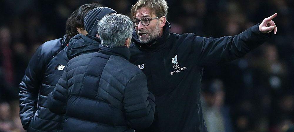 """Confruntarea COLOSILOR: """"Dupa ce ai ajuns in Anglia, realizezi ce inseamna un United - Liverpool!"""" Absente mari pentru Klopp si Mourinho"""