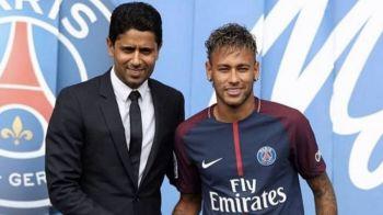 Omul care l-a transferat pe Neymar ar putea fi INTERZIS in fotbal! Al-Khelaifi, anchetat pentru CORUPTIE si ESCROCHERIE