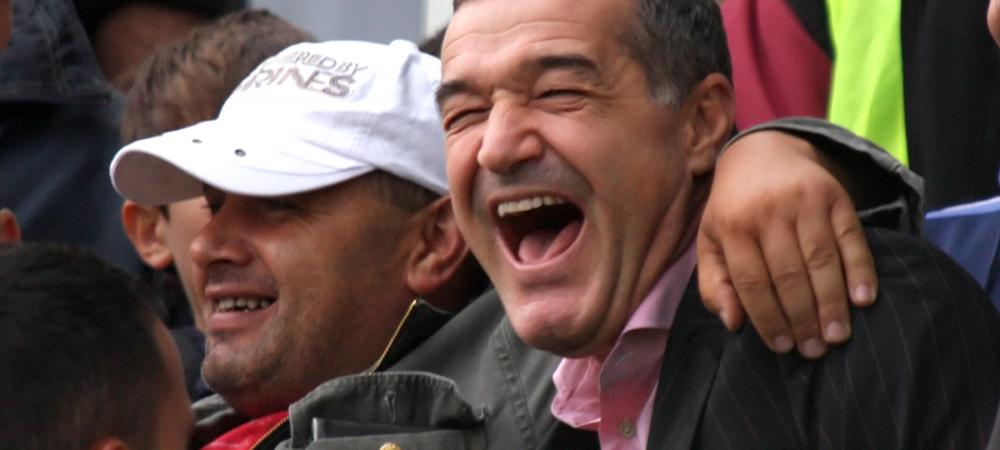 """Becali ironizeaza derby-ul dintre Steaua si Rapid din liga a patra: """"Diseara joaca Rapidul cu Talpan!"""""""