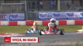 Opt pusti din Romania au luat lectii de karting de la Barichello si Ralf Schumacher in Italia. VIDEO