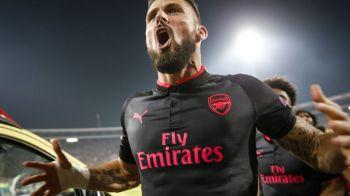 Ce-a putut sa faca Arsenal! Faza GENIALA si reusita incredibila a lui Giroud cu Steaua Rosie. VIDEO