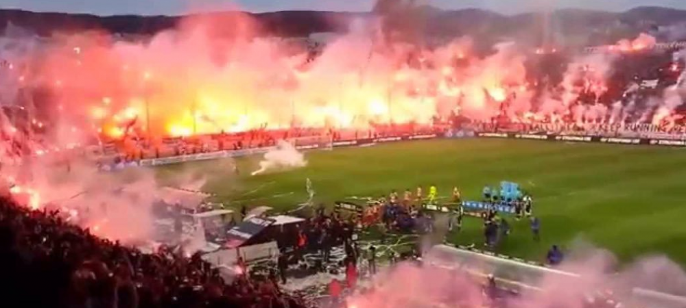 Pare incredibil, dar asa arata un ANTRENAMENT al lui Razvan Lucescu in Grecia! Fanaticii de la PAOK se pregatesc de derby-ul cu Olympiakos: VIDEO