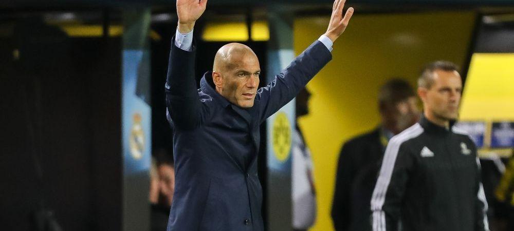"""Singura cerinta pe care Zidane a avut-o pentru perioada de mercato din iarna: ce """"tinta"""" si-a stabilit antrenorul Realului"""