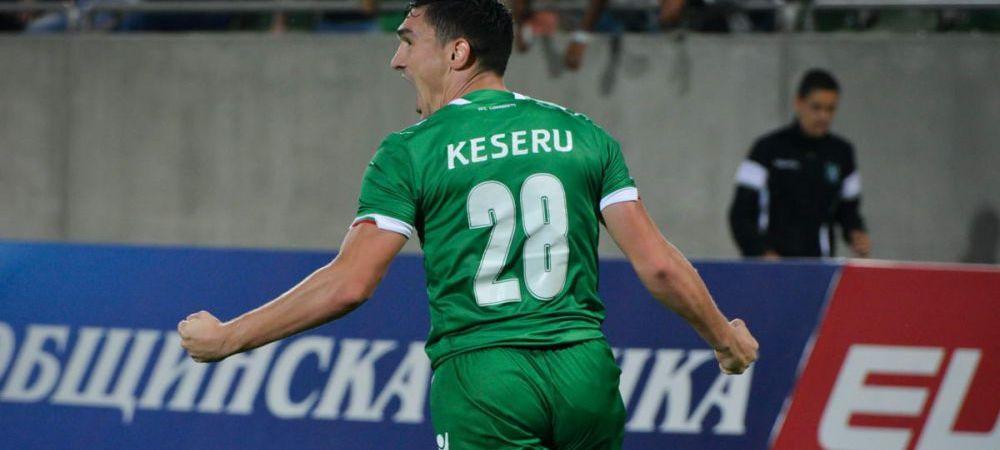 Keseru, hat-trick pentru Ludogorets! Romanul nu mai marcase de de o luna si jumatate
