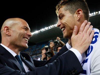 Zidane, CEL MAI BUN antrenor din lume in 2017! Ronaldo, cel mai bun jucator