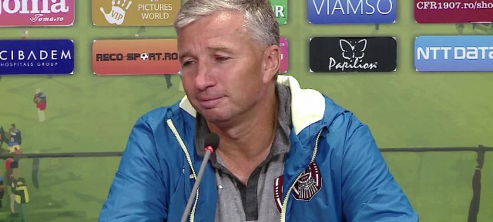 """Dan Petrescu vrea proba video: """"Iorgulescu a promis, trebuie sa si faca!"""" Cate puncte ar fi avut in plus CFR daca arbitrii puteau sa vada reluarile"""