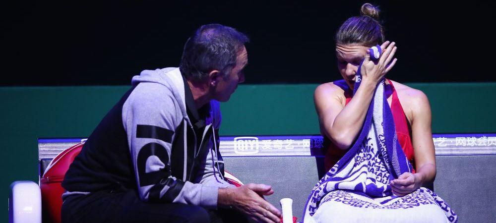 Simona Halep a fost invinsa de Wozniacki la Turneul Campioanelor | Declaratia incredibila data de Svitolina inainte de meciul decisiv cu Simona