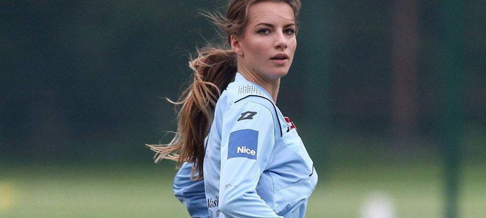 Ar putea castiga oricand titlul de MISS! Cum arata cea mai frumoasa arbitra de fotbal din lume! FOTO