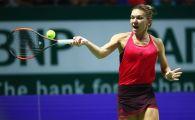 """Simona Halep la Turneul Campioanelor   Prima reactie a Simonei dupa infrangerea categorica cu Wozniacki: """"Am gresit prea mult!"""""""