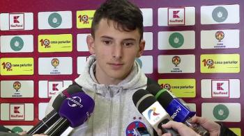 """""""Plangea sufletul de multumire!"""" Reactie EMOTIONANTA a lui Pompiliu Stoica, dupa debutul la Steaua cu gol al fiului sau de 14 ani"""