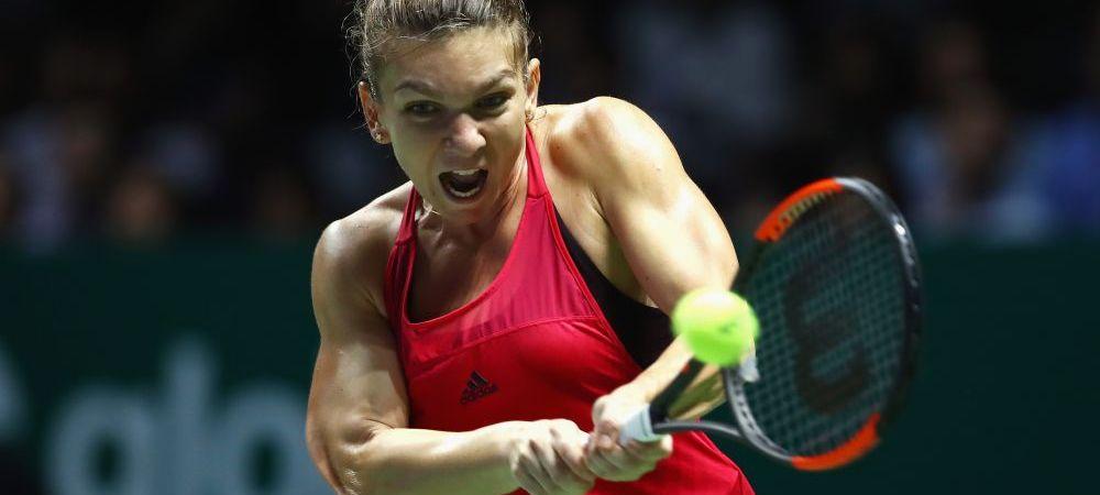 Simona Halep a fost eliminata de la Turneul Campioanelor   Singura veste buna dupa infrangerea cu Svitolina! Cum poate ramane numarul 1 mondial