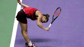 "Simona Halep, OUT de la Turneul Campioanelor | Reactia lui CTP dupa meci: ""Simona a fost incapabila sa tina mingea in teren!"""