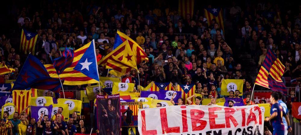 Independenta Cataloniei a fost proclamata de Parlament! Reactia imediata a Spaniei! Ce se intampla cu Barca