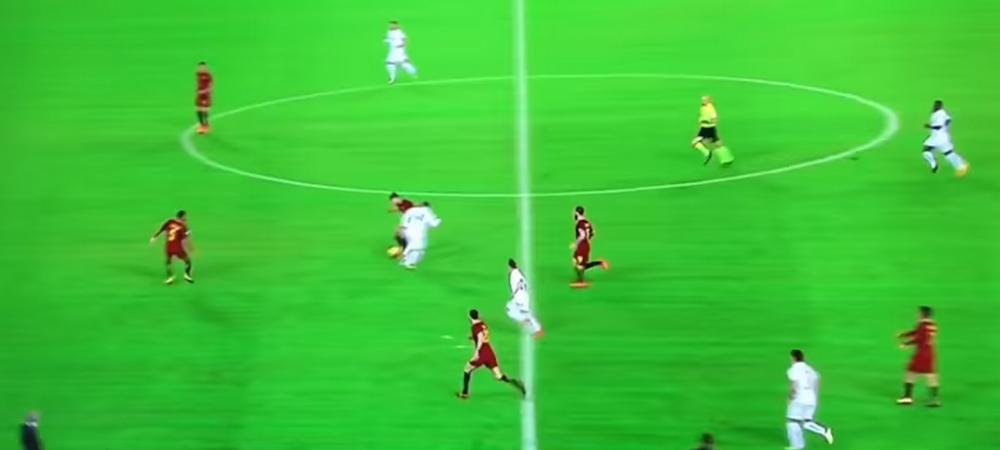"Dribling ""de NOBEL"" reusit de Di Francesco impotriva echipei tatalui sau! Faza senzationala la meciul Romei. VIDEO"