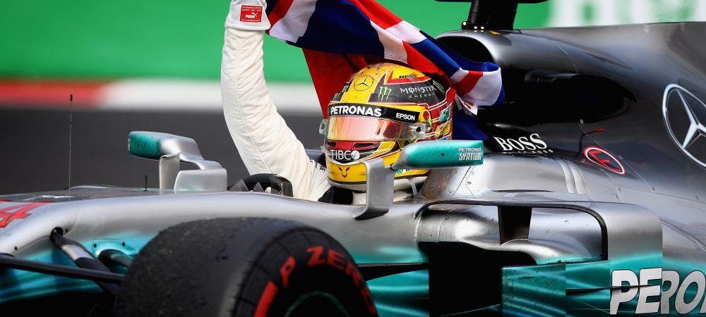 Lewis Hamilton a devenit pentru a 4-a oara campion mondial, desi a terminat pe 9 in MP al Mexicului! El i-a egalat pe Vettel si Alain Prost