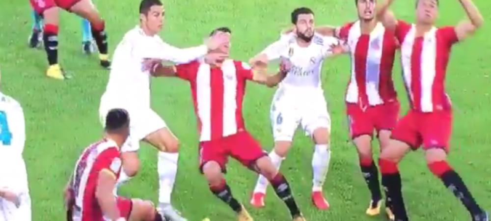 Infrangerea de la Girona i-a intins nervii la maximum! Gest golanesc al lui Ronaldo; catalanii il vor din nou suspendat