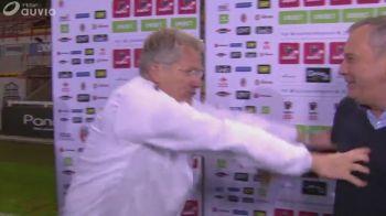 """Scene AMUZANTE in Belgia dupa duelul romanilor! Boloni: """"Iti trag un pumn in gura daca spui ceva..."""" Reactia imediata a lui Rednic"""