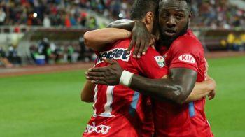 """Bizonul"" a intrat in istorie! Gnohere, PRIMUL JUCATOR din ""era Becali"" care reuseste asa ceva la Steaua: i-a detronat pe Keseru si Rusescu"