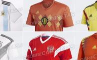 GALERIE FOTO: Moda RETRO la Cupa Mondiala! Ce echipamente vor purta Spania, Germania, Argentina si Rusia in 2018