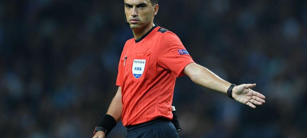 Hategan arbitreaza in barajul pentru Mondial! Ce meci i-a dat UEFA romanului
