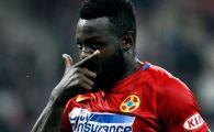 """Gnohere, din nou decisiv: Steaua 2-1 Concordia! """"Bizonul"""" s-a bucurat alaturi de Alibec dupa golul de trei puncte"""