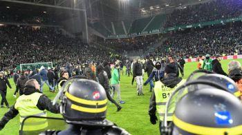 Ultrasii lui Saint Etienne n-au mai suportat UMILINTA! E incredibil ce au facut la 5-0 pentru Lyon. VIDEO