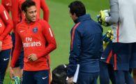 Neymar nu are liniste la PSG! Antrenorul Unai Emery l-a bagat in sedinta! Ce au discutat cei doi