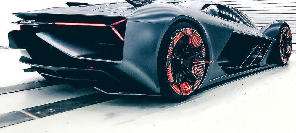 Lamborghini Terzo Millennio: primul BOLID 100% electric al italienilor! Imagini fabuloase. FOTO