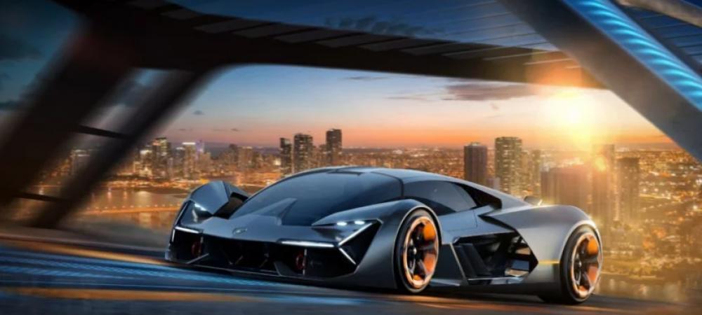 """Noul concept Lamborghini, opera unui ROMAN! Italienii au prezentat masina viitorului sub numele de """"Mileniul Trei"""""""