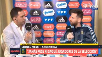 Messi a rupt tacerea si a raspuns acuzatiilor ca face selectia si numeste selectionerii la nationala