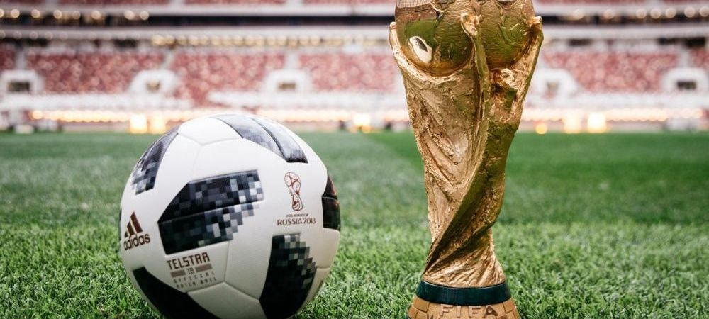 """Messi a lansat mingea Mondialului din Rusia. Cum arata """"Telstar 18"""", nepoata balonului cu care s-a jucat Brazilia - Romania, in Mexic '70"""
