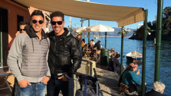 """Cholo"" Simeone a ajuns in cantonamentul Fiorentinei, dar nu pentru a prelua echipa! ""Bai, unde mi-e baiatul?!"" :)"